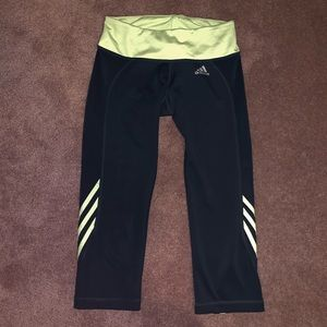 Adidas Cropped Leggings